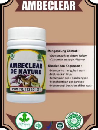 OBAT KAPSUL HERBAL AMBEJOSS DE NATURE