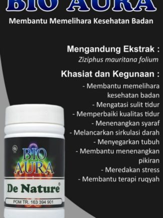 OBAT KAPSUL HERBAL BIO AURA DE NATURE