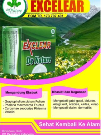 OBAT SALEP HERBAL EXCLEAR DE NATURE