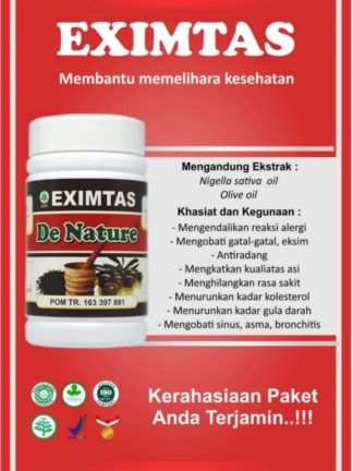 OBAT KAPSUL HERBAL EXIMTAS DE NATURE