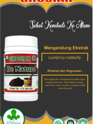 OBAT KAPSUL HERBAL GHOSIAH DE NATURE