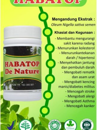 OBAT KAPSUL HERBAL HABATOP DE NATURE